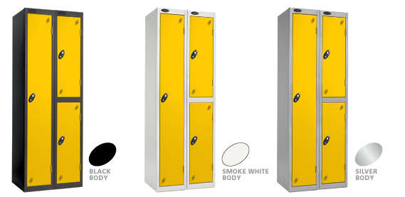 click on the locker door colour's to view other colours